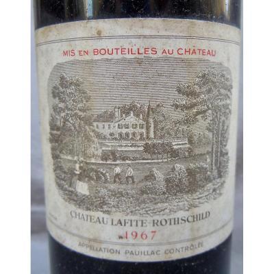 Château Lafite Rothschild 1967 Pauillac 1er Grand Cru Classé Bordeaux Bouteille 75cl