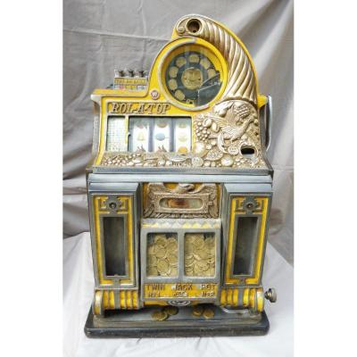 Bird Of Paradise Rol-a-top Slot Machine Watling, Chicago, Usa 1936 Jackpo One-armed Bandit