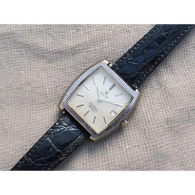 Airin / Airain Montre Bracelet De Ville Homme Automatique Date Made In France Circa 1970 automatic 25 rubis incabloc