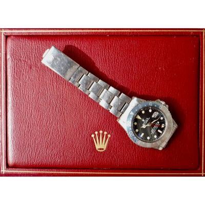 Rolex Gmt Master Long E Steel Ref 1675 Date Oyster Bracelet Circa 1970