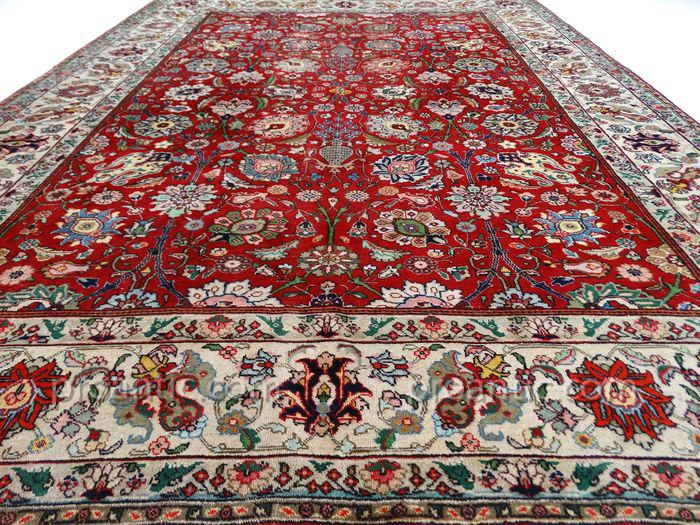 grand tapis tabriz persan ancien tapis. Black Bedroom Furniture Sets. Home Design Ideas