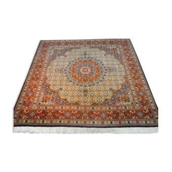 Beautiful Carpet Moud Iran Square