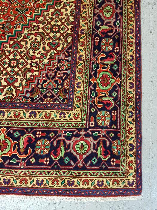 Tapis Tabriz Persan Très Fin (Pièce Rare)-photo-2