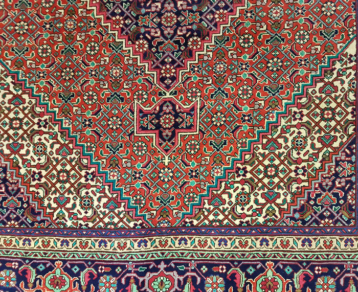 Tapis Tabriz Persan Très Fin (Pièce Rare)-photo-3