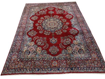 Large Persian Rug Kirman Royal