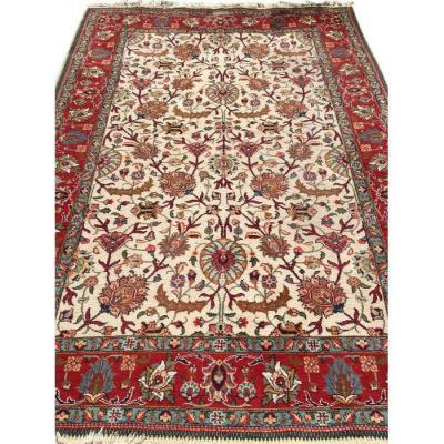 Grand Tapis Persan Tabriz Vintage