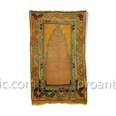 Late 19th Century Turkish Prayer Rug