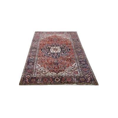 Large Persian Rug Heriz Early Twentieth