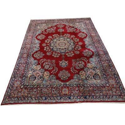 Grand Tapis Persan Kirman Royal