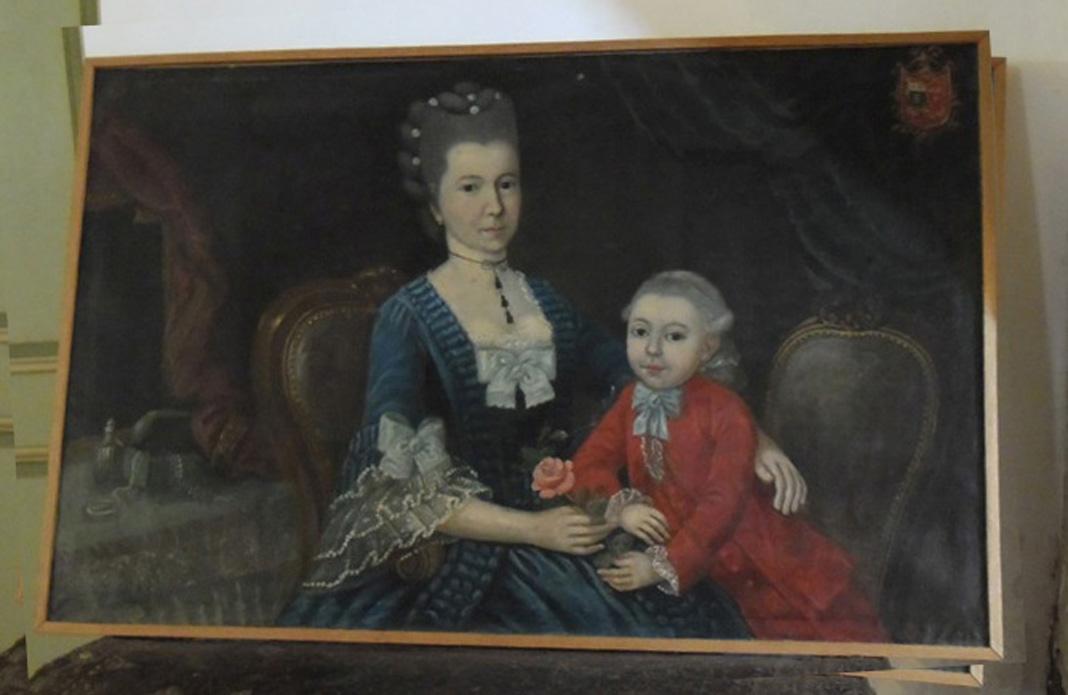 Tableau d'époque Louis XVI