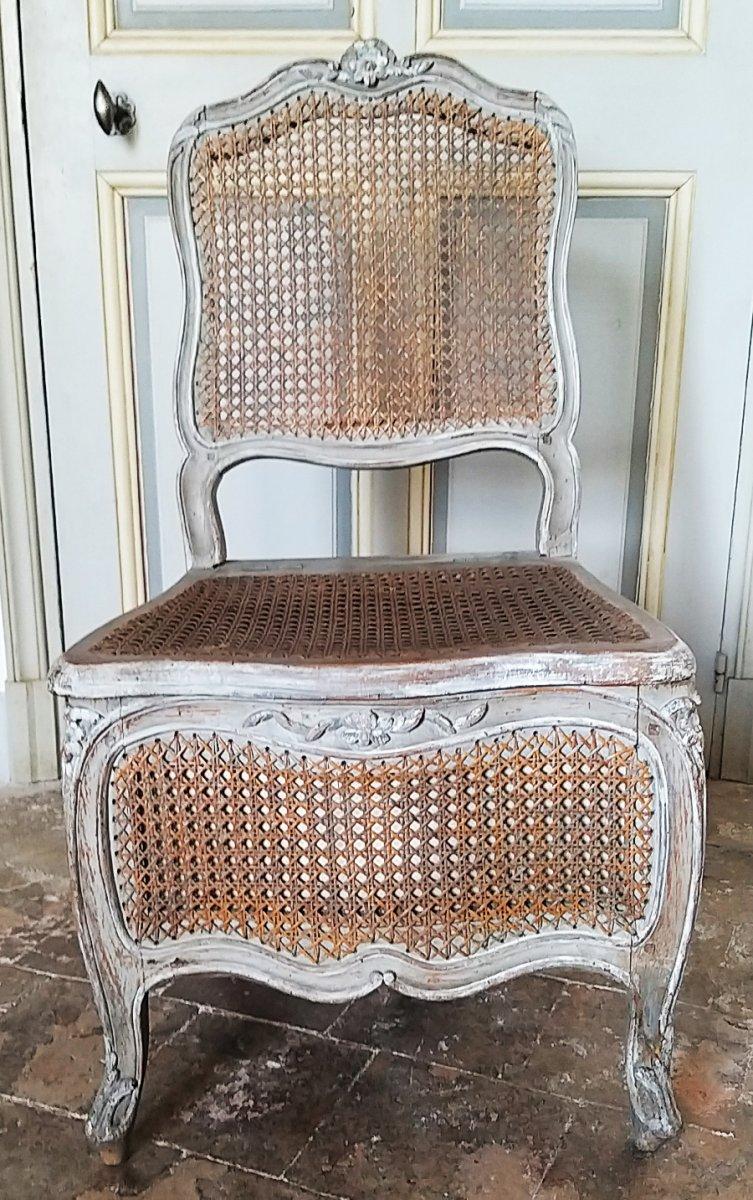 Louis XV Period Commodity Seat