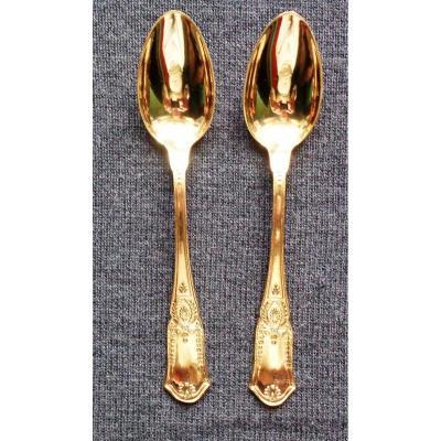 Series Of Sorbet Spoons