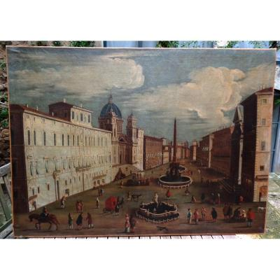 Tableau De Rome Piazza Navona