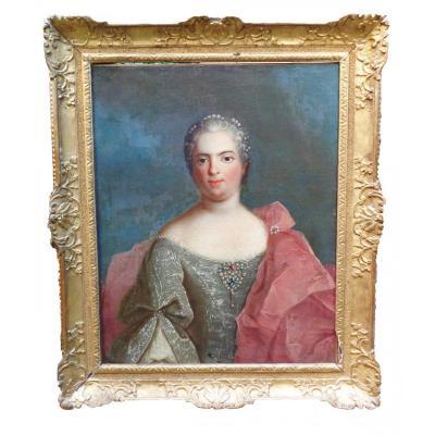 Portrait De Femme XVIIIeme