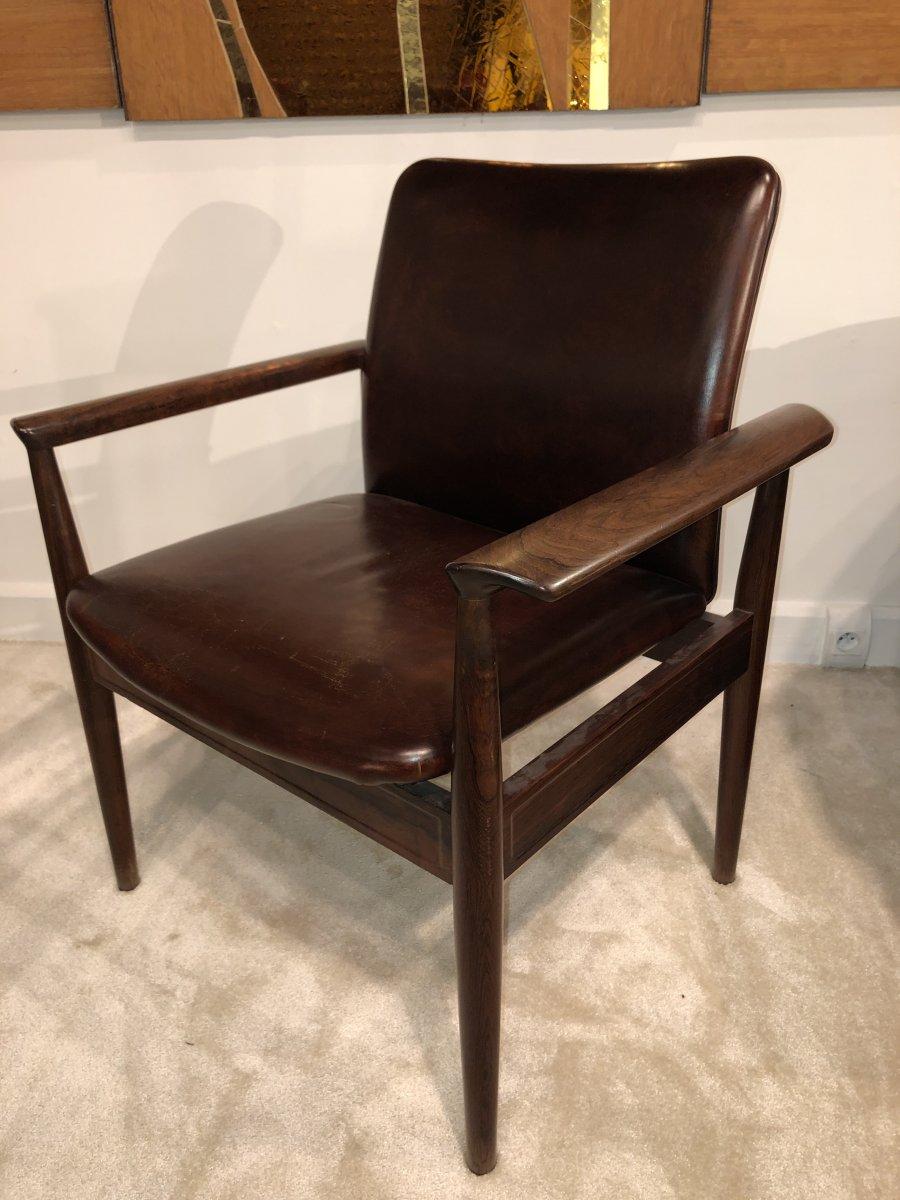 1960s Scandinavian Design Armchair By Finn Juhl