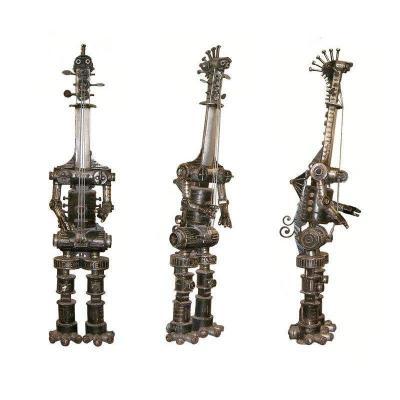 Large Metal Sculpture