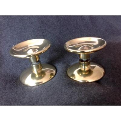 2 Pairs Of Bronze Cuffs