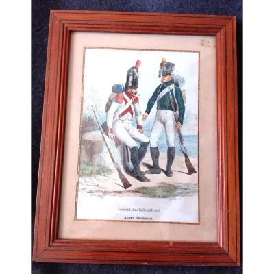 Gravure De Napoléon encadrée