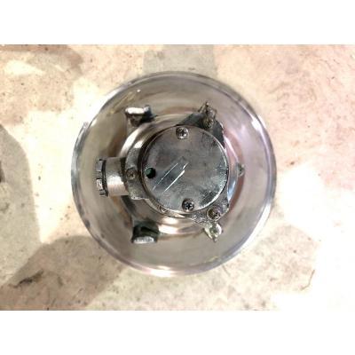 Industrial Polished Aluminum Pendant