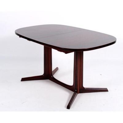 Table à Rallonges, Design Scandinave Des Années 1960 De Niels Otto Møller En Palissandre.