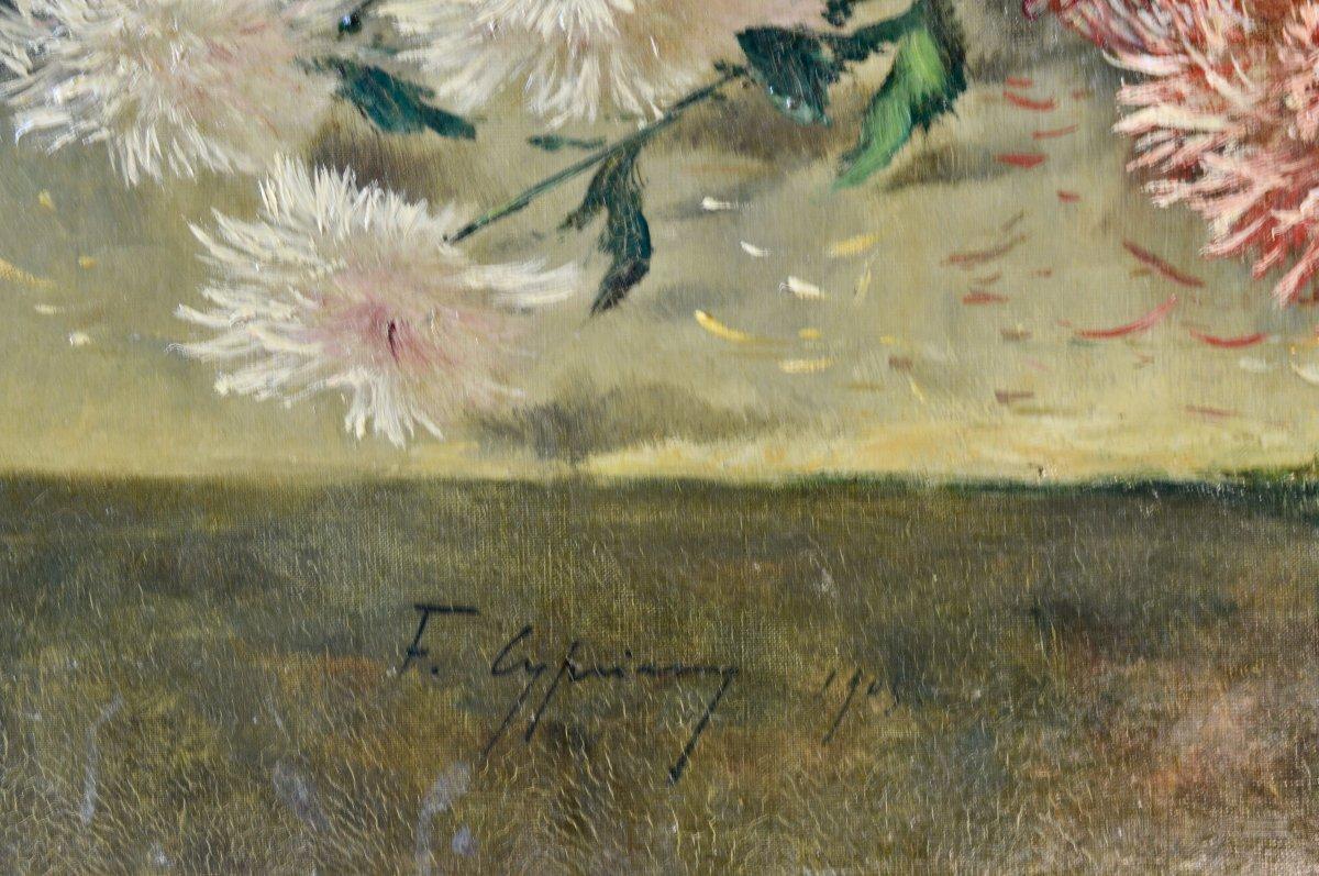 Bouquet De Dahlias  F. Cypriany -photo-2
