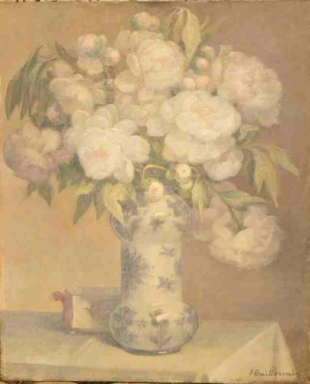 F Guillermin: Bouquet Peony