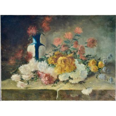 Bouquet De Dahlias  F. Cypriany