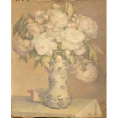 F Guillermin: Bouquet De Pivoines