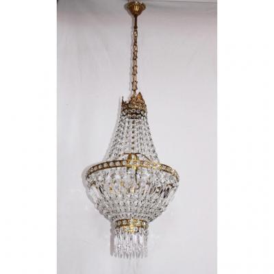 Grand Chandelier Montgolfiere Louis XVI Style
