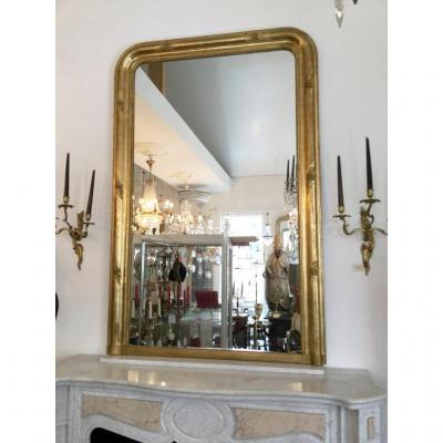 Grand Miroir De Cheminée Louis Philippe
