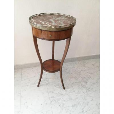 Guéridon 19ème Style Louis XVI