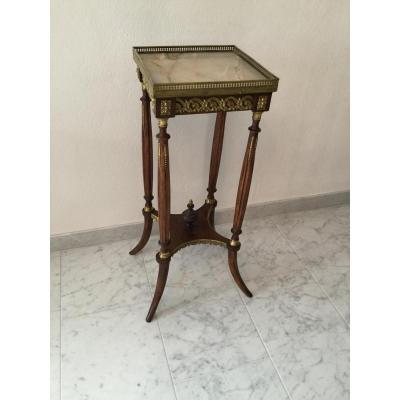 Guéridon Table d'Appoint Selette Table De Salon Napoleon III