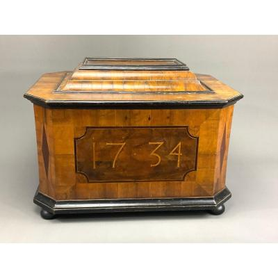 Guild Chest 1734 Vienna With Guild Regulations