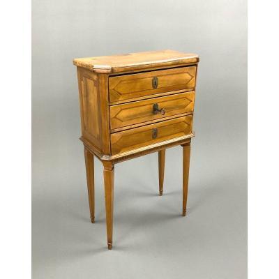 Louis Seize Small Model Commode Circa 1780