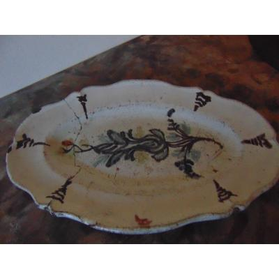 Eighteenth Earthenware Dish