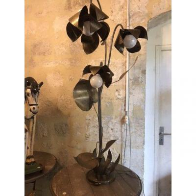 Lotus Flowers Floor Lamp Circa 70