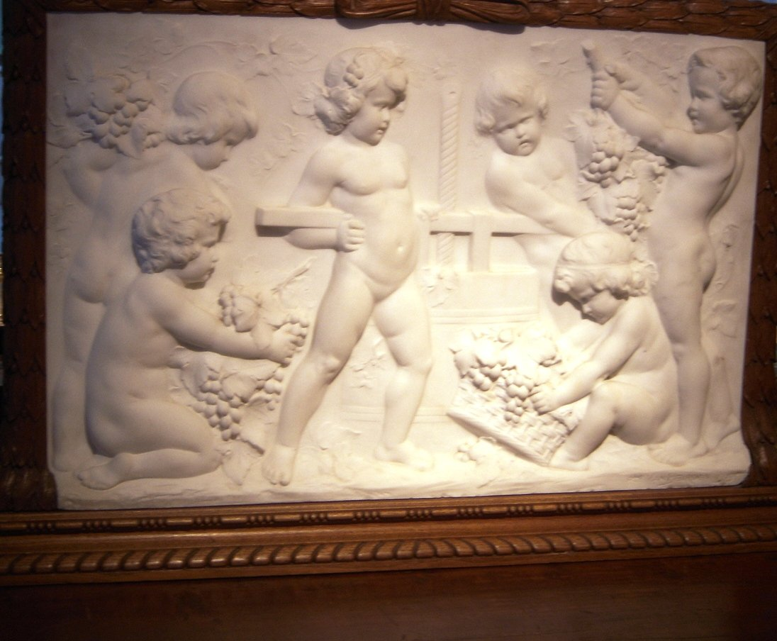 High Relief Marble Sculpture