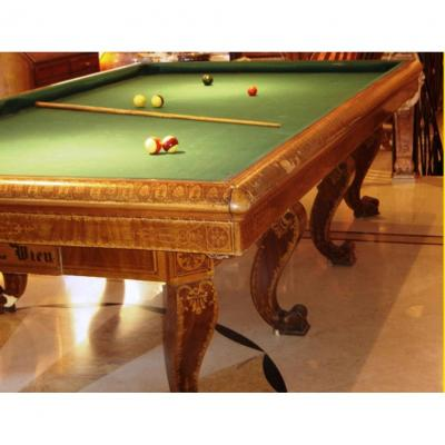 Old Viennese Billiard Table Charles X °