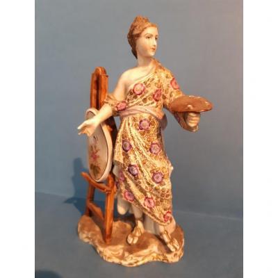 Figurine En Porcelaine Ancienne Manufacture Royale De Berlin