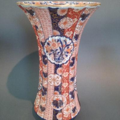 Imari Porcelain Vase Antique Asian Art 19th Century