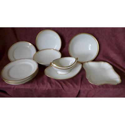 Eléments De Service Porcelaine Empire
