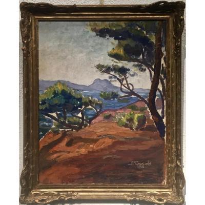 SAINT RAPHAEL - 1930 - Jean Paul CRESPELLE (1910-1994)