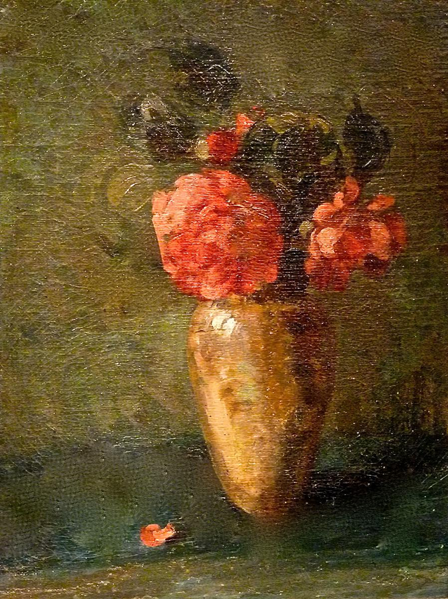 Flowers In A Vase Nineteenth Lyonnaise School - Unsigned-photo-2