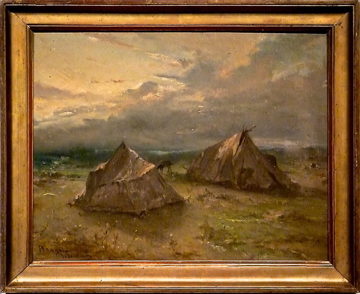 Hongrie par Jean-François PORTAELS (1818-1895) Ecole Belge