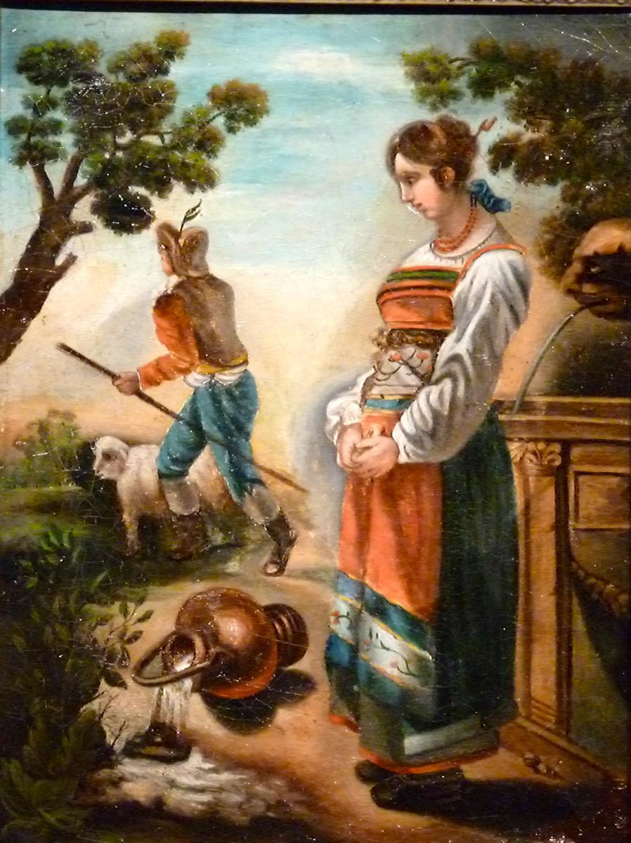 Scène bucolique - Tyrol Suisse - Vers 1840-photo-2