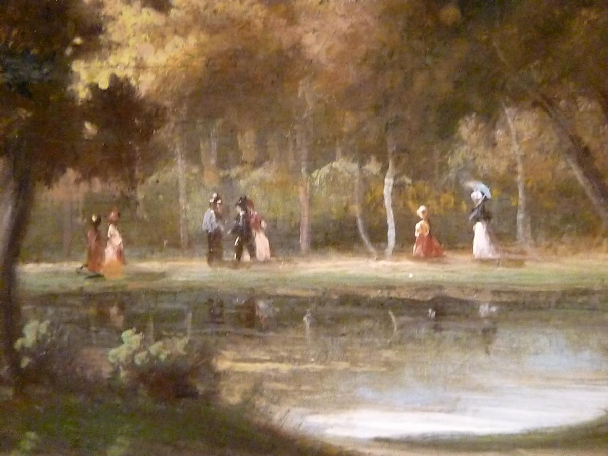 The Walk In Forest Of Fontainebleau XIX - Unsigned