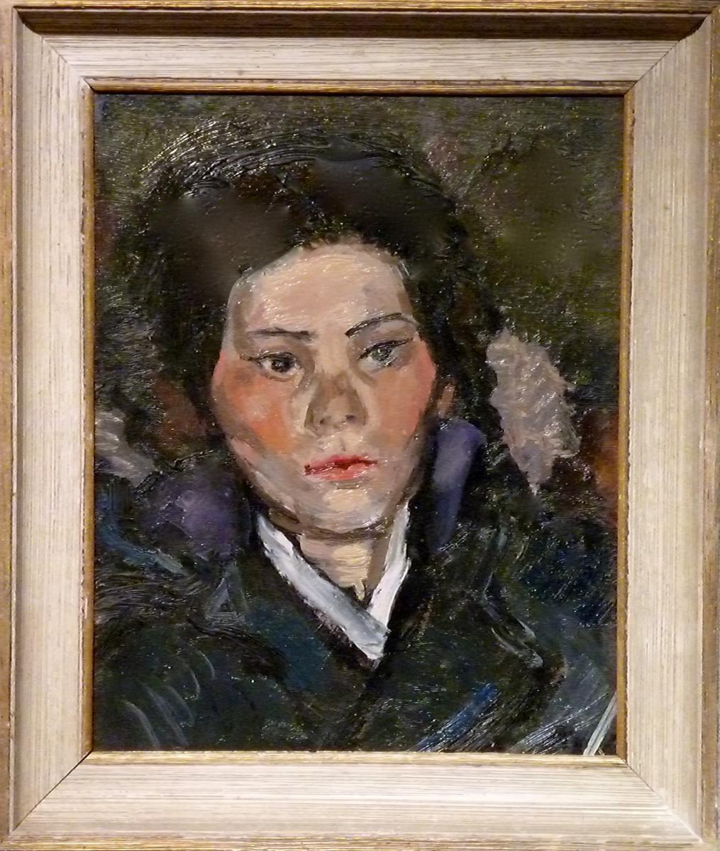 Woman Of Annees 70 By Paul Hubay (1930-1984)