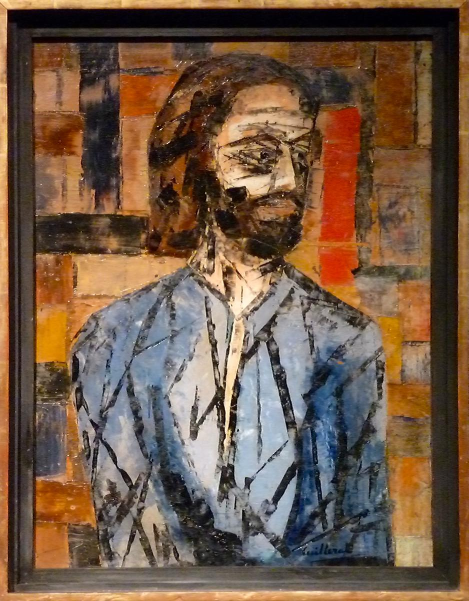 """""""L'APOTRE"""" Autoportrait de Jean CUILLERAT (1927-1998)"""
