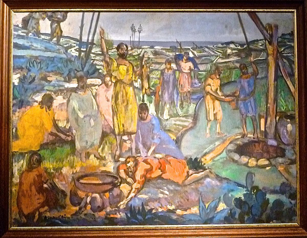 ECOLE DE SITGES - Agustin FERRER-PINO (1884-1960)