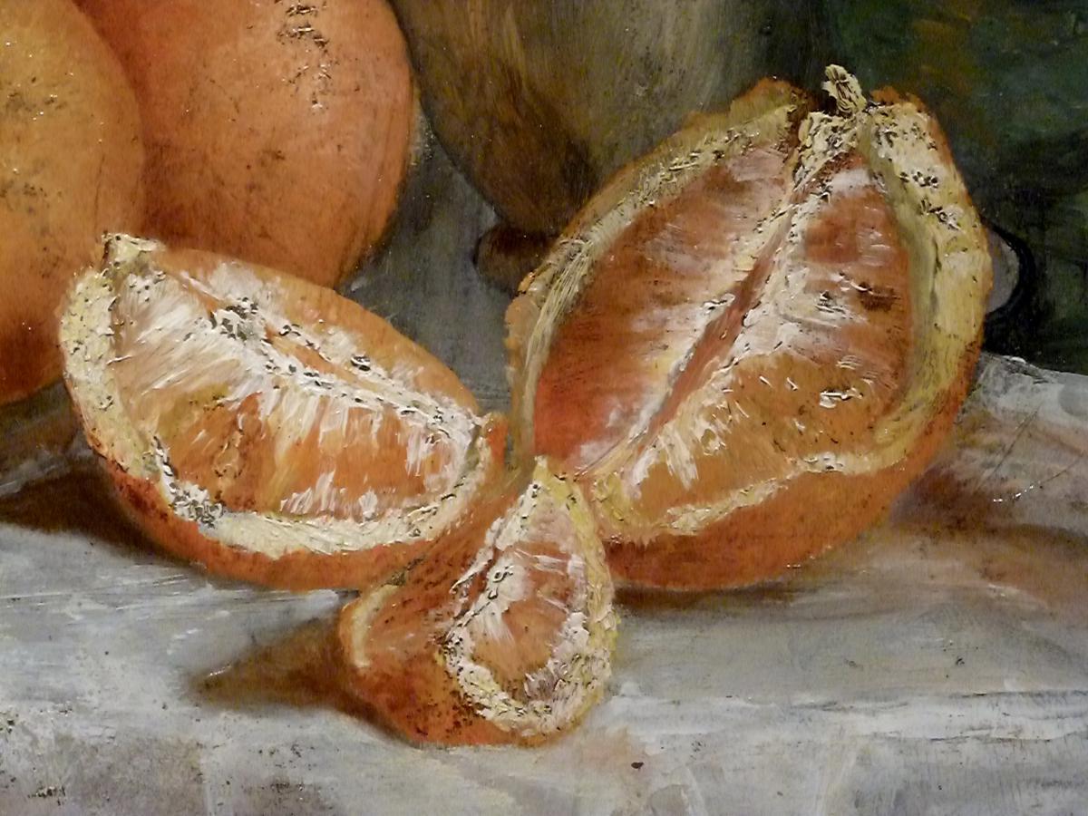 Orange Tablecloth - XIX - Unsigned-photo-3